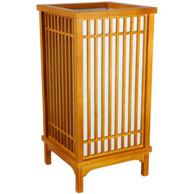 "Oriental Furniture 18"" Nikko Lamp"""