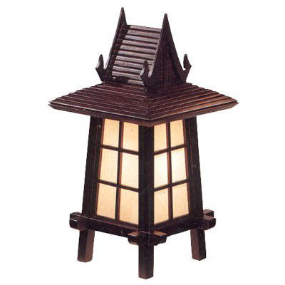 """Oriental Furniture 18"""" Puggi Table Lamp"""""""