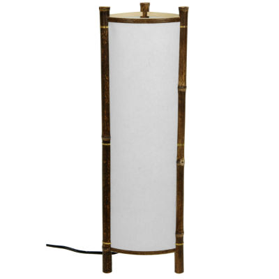 Oriental Furniture Kamakura Japanese Bamboo TableLamp