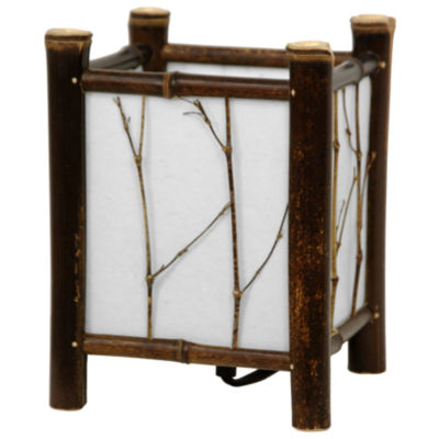 Oriental Furniture Watashi Japanese Table Lamp