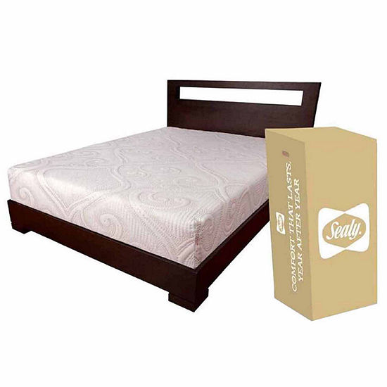 Sealy 10 Hybrid Mattress In A Box Jcpenney