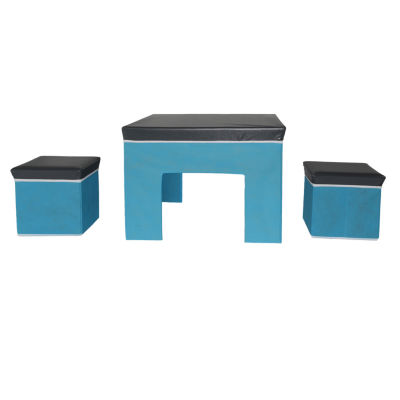 Bintopia™ 3-Piece Kid's Collapsible Table And Chair Play Set