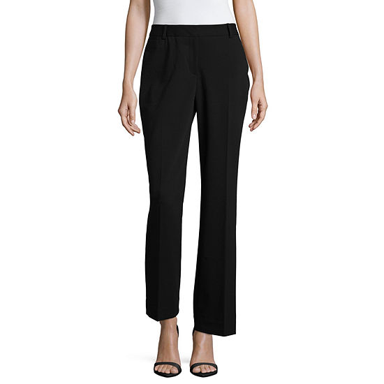 Liz Claiborne® Curvy Fit Elizabeth Secretly Slender™ Bootcut Trousers