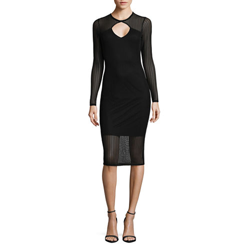 Project Runway Long Sleeve Bodycon Dress