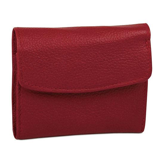 Buxton® Hudson Mini Tri-Fold Wallet