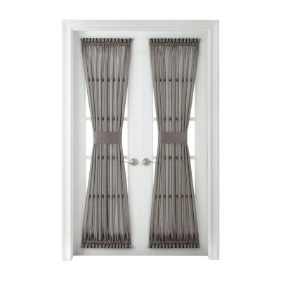 Plaza Thermal Interlined Rod-Pocket Door Panel