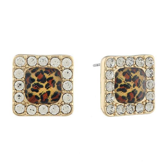 Gloria Vanderbilt 14.5mm Stud Earrings