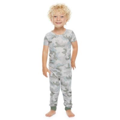 Jaclyn Camo Family Sleepwear Toddler Unisex 2-pc. Pajama Set