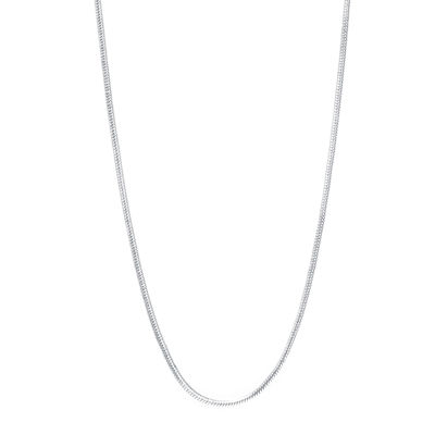 "Silver-Plated Brass 30"" Round Magic Chain"