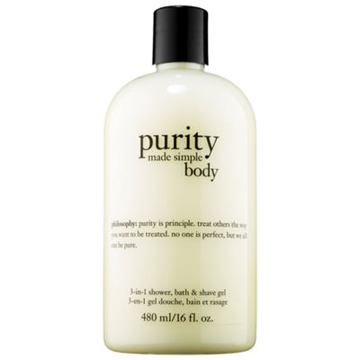 philosophy Purity Made Simple 3-in-1 Shower, Bath & Shave Gel