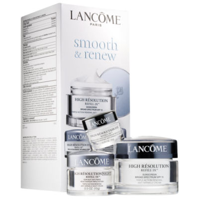 Lancôme Smooth & Renew High Résolution Refill-3X™ Regimen Set