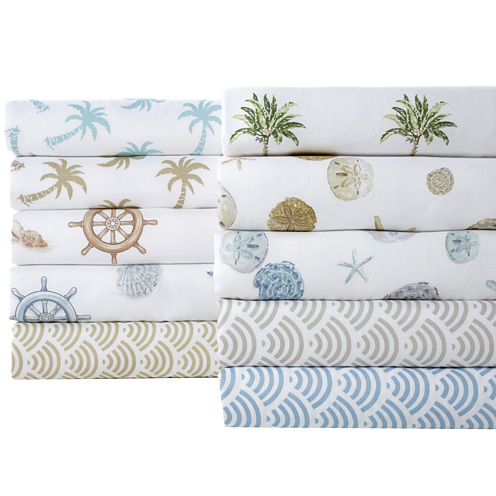 Panama Jack® 300tc Cotton Printed Sheet Set