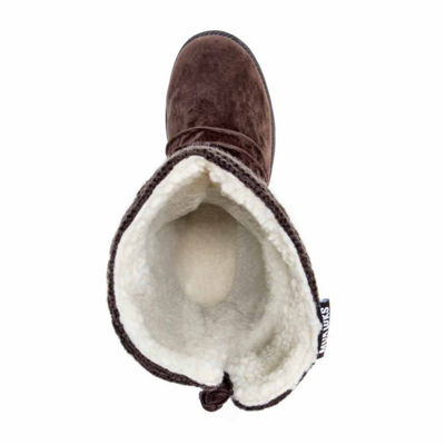Muk Luks Womens Winter Boots Pull-on