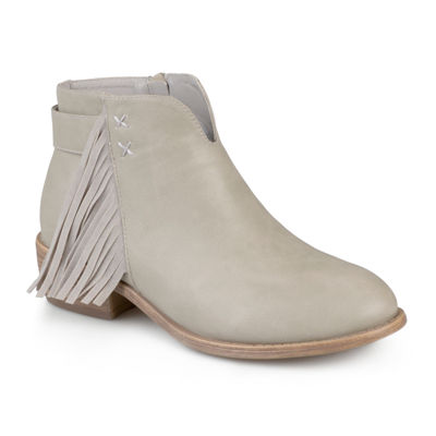 Journee Collection Womens Bootie Zip