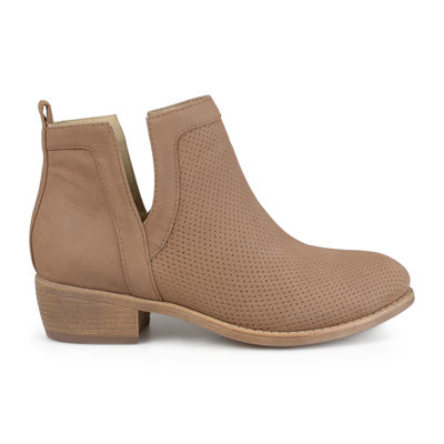 Journee Collection Womens Bootie Pull-on