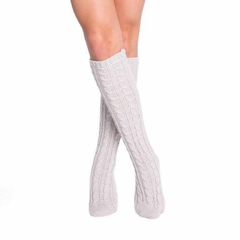 Muk Luks Cable Knee High Socks