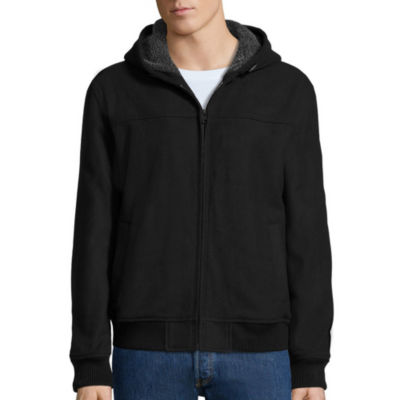 Levi's® Long-Sleeve Sherpa-Lined Bomber Hoodie