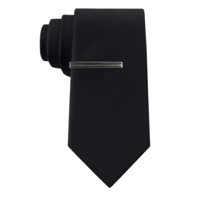 J.Ferrar Jewel Solid Slim Tie