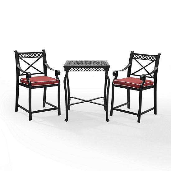 Crosley Portofino Cast Aluminum 3-pc. Bistro Set