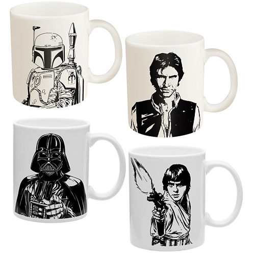 Star Wars 4-pc. Coffee Mug