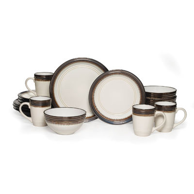 Gourmet Basics By Mikasa Bailey 16-pc. Dinnerware Set