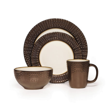 Gibson® Elite Convergence 16-pc. Color Block Dinnerware Set - JCPenney