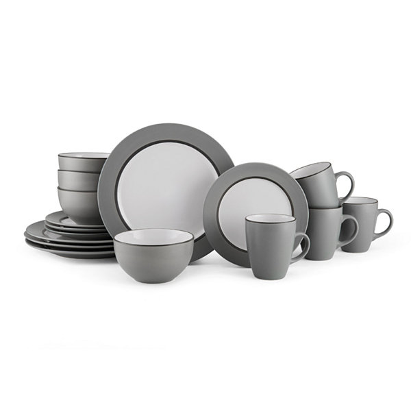 Gourmet Basics by Mikasa 16-pc. Dinnerware Set  sc 1 st  JCPenney & Gourmet Basics by Mikasa 16-pc. Dinnerware Set - JCPenney