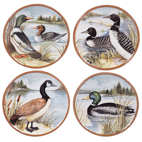 Certified International Lake Life 4-pc. Dinner Plate