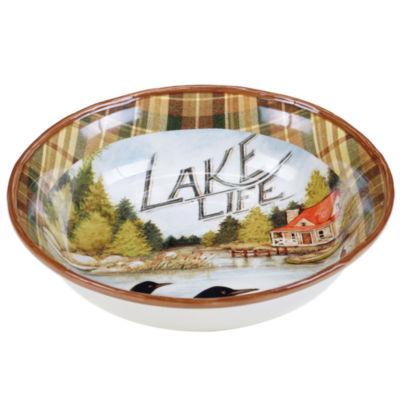 Certified International Lake Life Pasta Bowl
