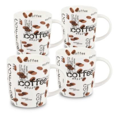 Konitz Coffee Collage 4-pc Coffee Mug