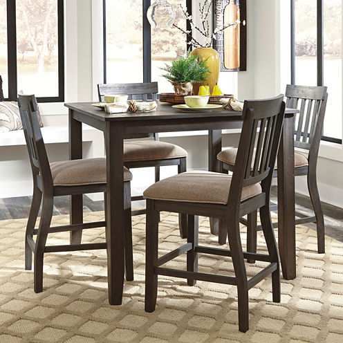Signature Design By AshleyR Dresbar Counter Height Dining Table