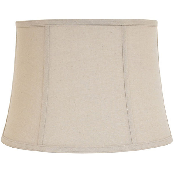 Linen bell lamp shade with piping jcpenney linen bell lamp shade with piping aloadofball Gallery