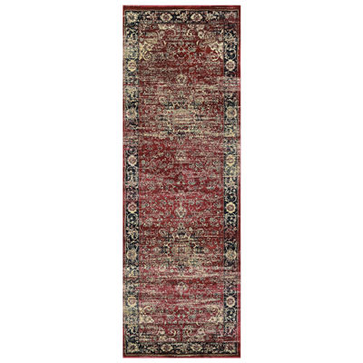 "Couristan™ Persian Vase Runner Rug - 31""X94"