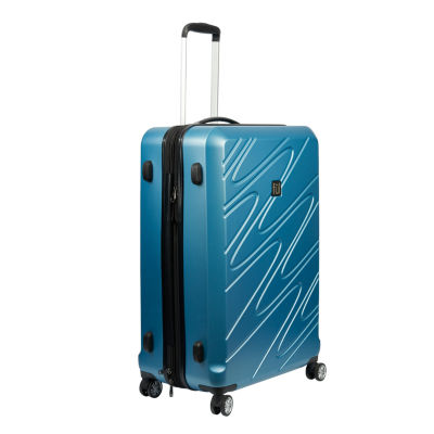 Ful Scribble 29 Inch Hardside Luggage Carolina Blue