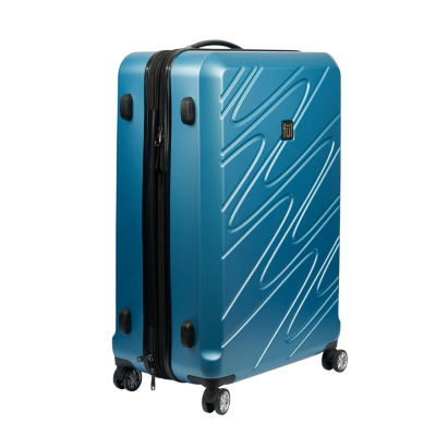 Ful Scribble 21 Inch Hardside Luggage Carolina Blue