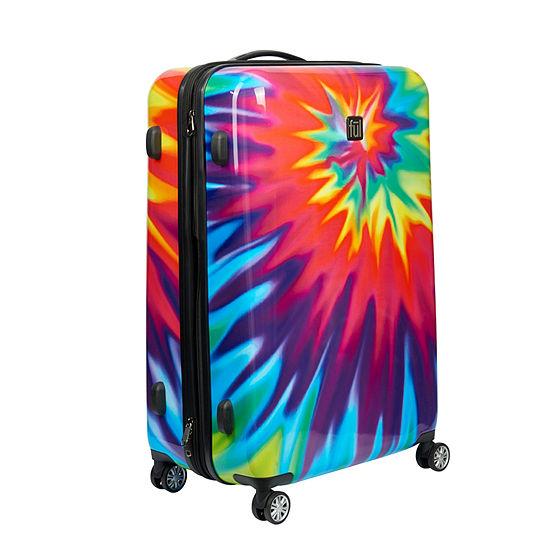 Ful Tie-Dye 24 Inch Hardside Luggage