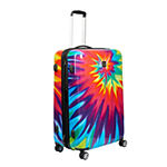 Ful Tie-Dye 20 Inch Hardside Luggage