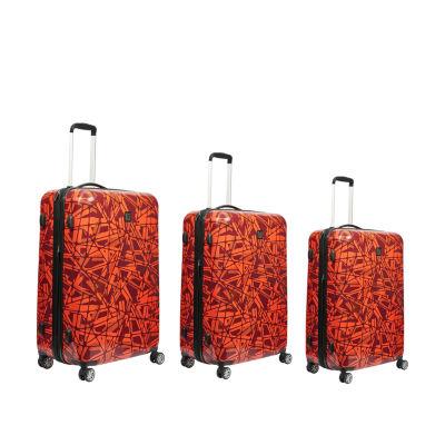 Ful Grunge 3-pc. Hardside Luggage Set