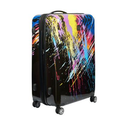 Ful 80s Rainbow 28 Inch Hardside Luggage