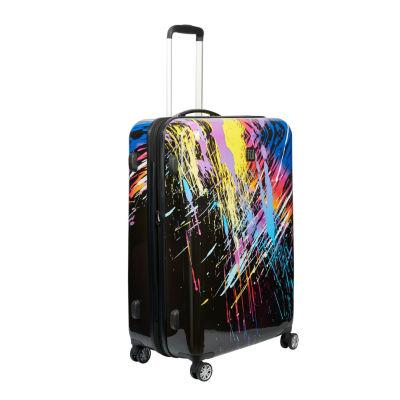 Ful 80s Rainbow 24 Inch Hardside Luggage