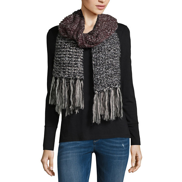 Mixit Ombre Oblong Fringe Cold Weather Scarf