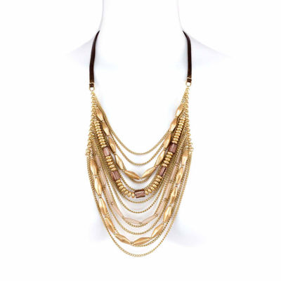 Studio By Carol Womens Strand Necklace
