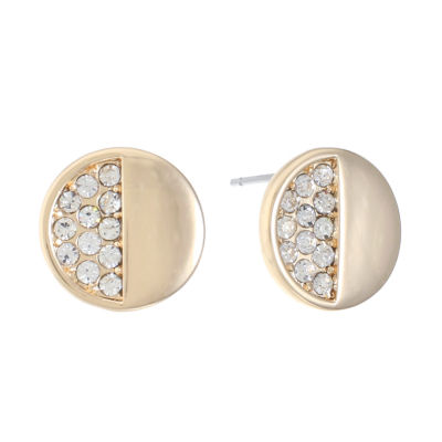 Liz Claiborne Clear Stud Earrings