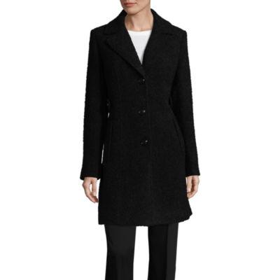 Miss Gallery Boucle Wool Coat