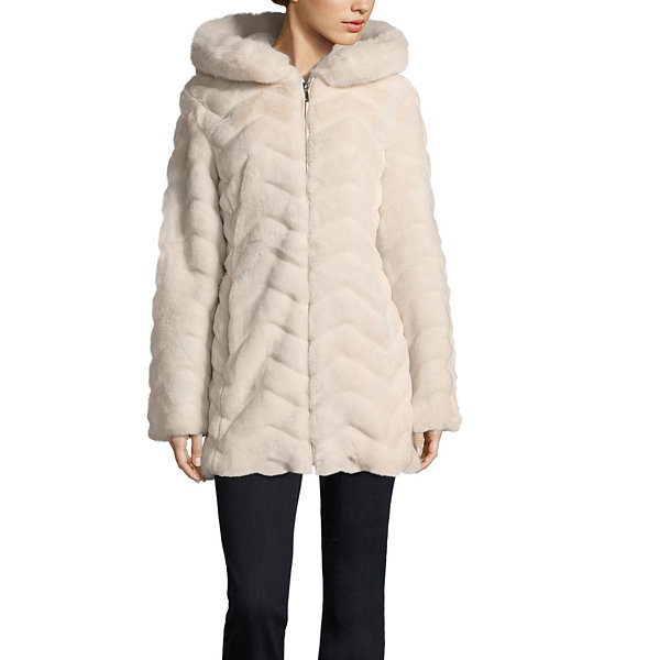 Liz Claiborne Faux Fur Coat