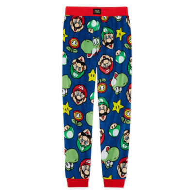 Super Mario Jogger Pajama Pant - Boys 4-20