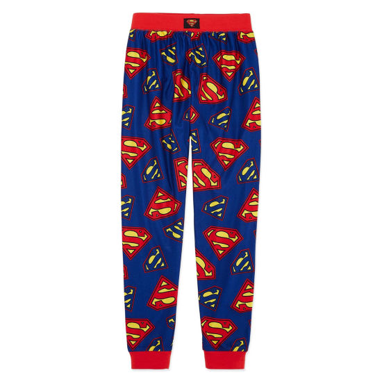 Superman Pajama Set Boys Husky