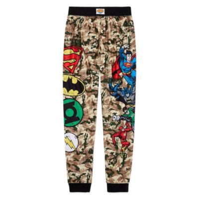Justice League Pajama Set Boys Husky