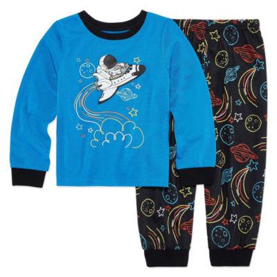 Space 2 Piece Pajama Set - Toddler Boys