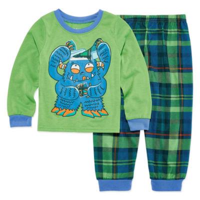 Monster 2 Piece Pajama Set - Boys 4-20
